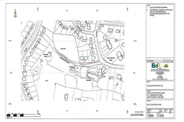 Thumbnail Land for sale in Hollington Park Road, St. Leonards-On-Sea