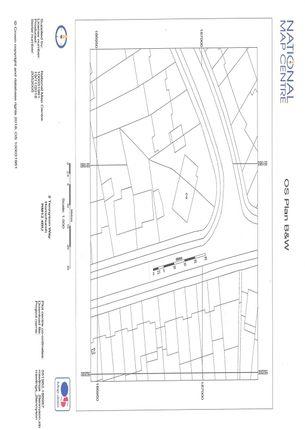 Os Plan of Tennyson Way, Hornchurch, Essex RM12
