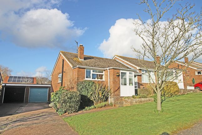 Thumbnail Semi-detached bungalow for sale in Long Park, Woodbury, Exeter