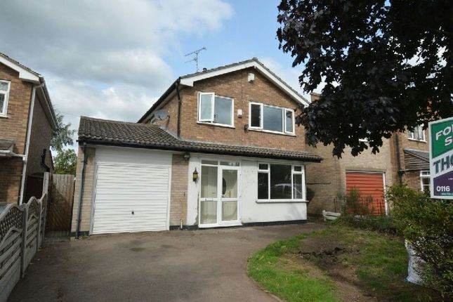 Thumbnail Detached house for sale in Grove Road, Whetstone, Leicester