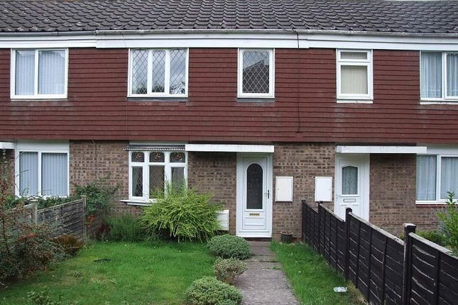 Thumbnail Terraced house to rent in Napton Close, Redditch