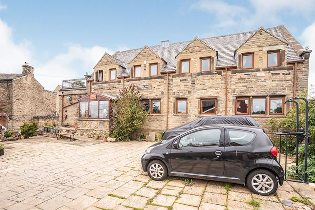 Thumbnail Detached house for sale in School Lane, Hartshead, Liversedge, West Yorkshire