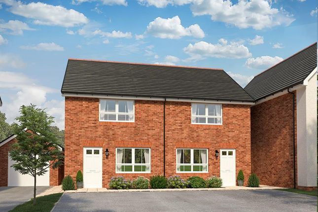 "2 bed terraced house for sale in ""Parrett"" at Sandys Moor, Wiveliscombe, Taunton TA4"