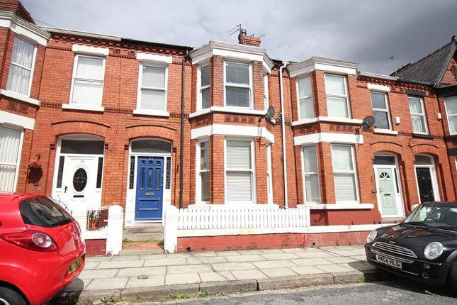 Thumbnail Terraced house to rent in Centreville Road, Allerton, Liverpool
