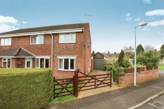 Thumbnail Semi-detached house for sale in Pinckneys Way, Durrington, Salisbury