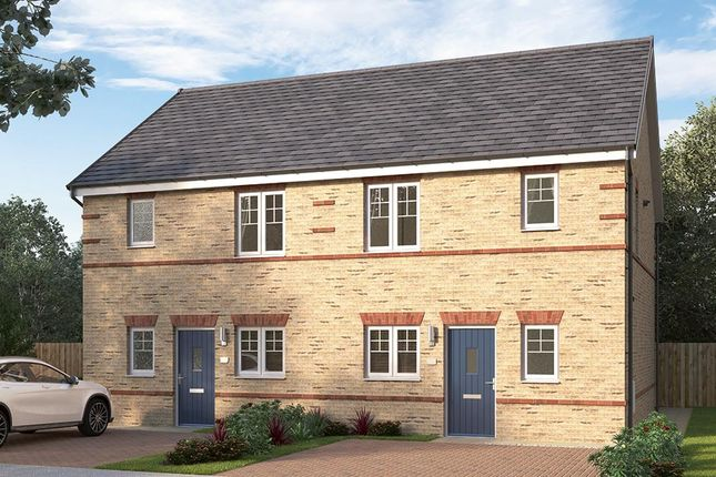 "3 bedroom terraced house for sale in ""The Irtonbridge"" at Chilton, Ferryhill"