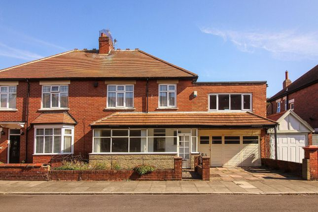 Thumbnail Semi-detached house for sale in Mill Grove, Tynemouth, North Shields