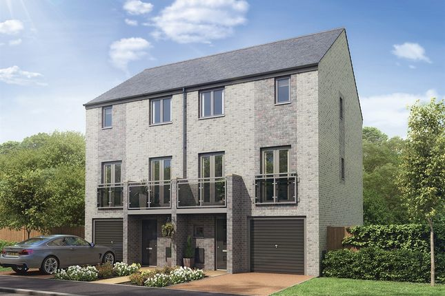 "Thumbnail Semi-detached house for sale in ""The Chester"" at Whinney Hill, Durham"