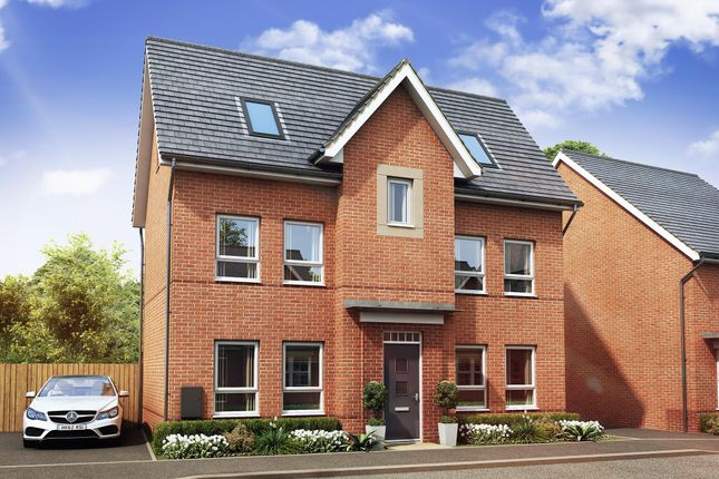 "Thumbnail Detached house for sale in ""Hexley"" at Countess Way, Broughton, Milton Keynes"