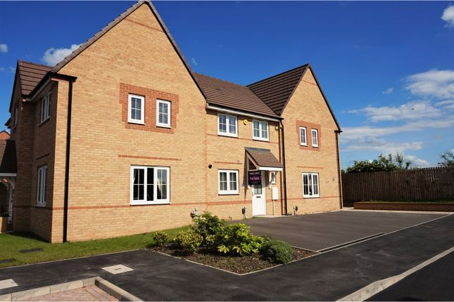 Thumbnail Town house for sale in Elmore Street, Thurcroft, Rotherham