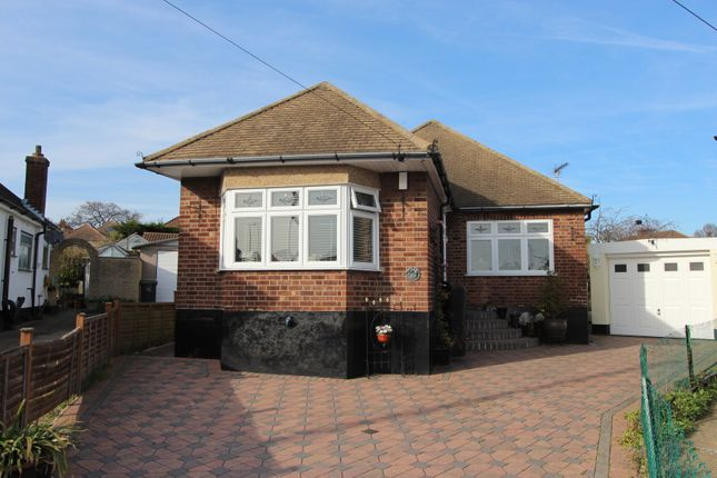 Thumbnail Detached bungalow for sale in Burfield Close, Leigh-On-Sea