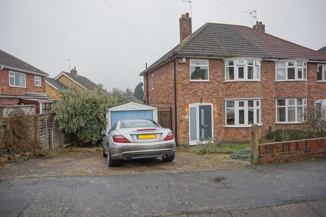 3 bed semi-detached house for sale in Langdale Avenue, Loughborough