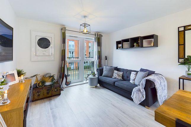 Thumbnail Flat for sale in Fenwick House Meridian Way, Southampton