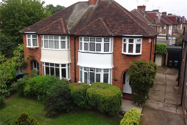 Thumbnail Semi-detached house for sale in Trentwood Side, Enfield, Middlesex