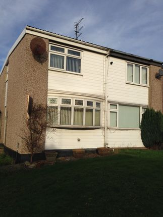 Thumbnail Semi-detached house to rent in Dickins Walk, Peterlee