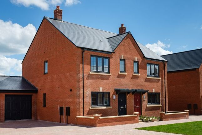Semi-detached house for sale in The Paddocks, Lightmoor Village, Telford
