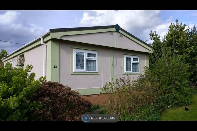 Thumbnail Mobile/park home to rent in Quedgeley Park, Gloucester