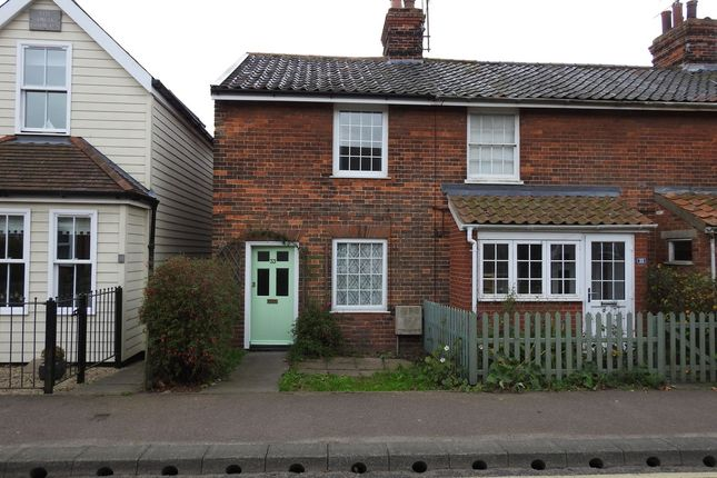 Thumbnail End terrace house to rent in Cross Street, Leiston