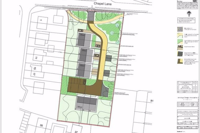 Thumbnail Land for sale in Chapel Lane, Hadfield, Glossop