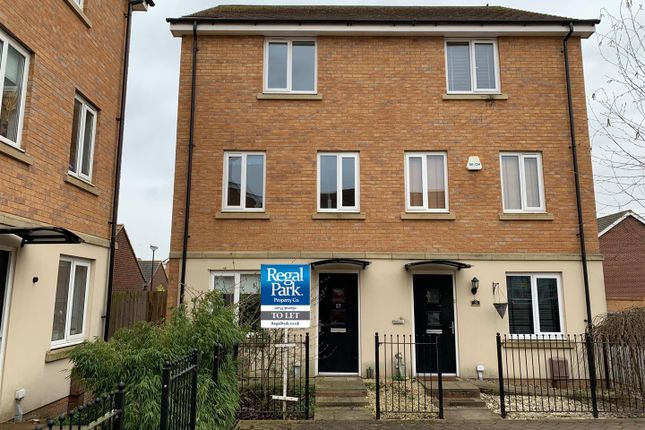 Thumbnail Semi-detached house to rent in Farrow Avenue, Hampton Vale, Peterborough