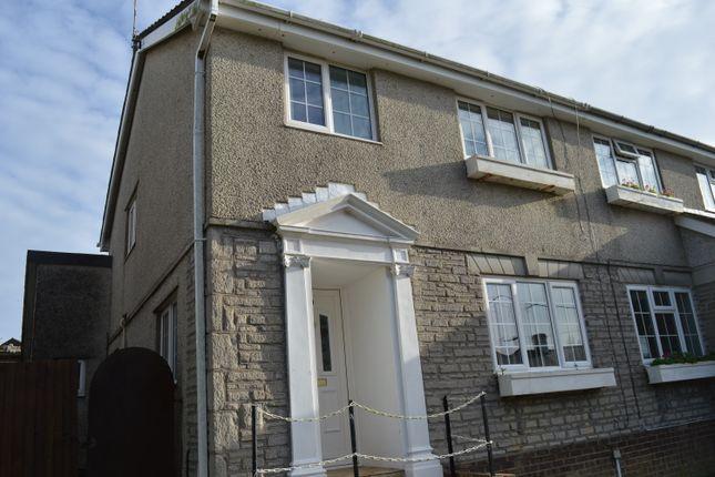 Thumbnail Semi-detached house for sale in Tresilian Close, Llantwit Major