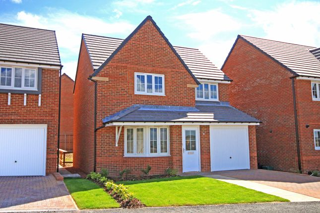 "Thumbnail Detached house for sale in ""Cheadle"" at Church Road, Webheath, Redditch"