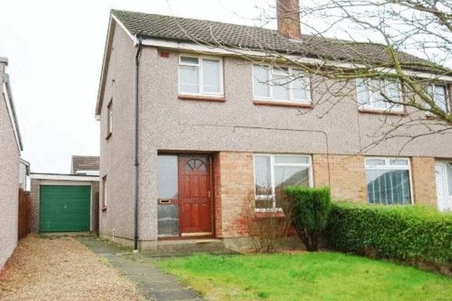 Thumbnail Semi-detached house to rent in Duddingston Drive, Kirkcaldy