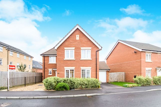 Thumbnail Detached house for sale in Bradley Drive, Grantham