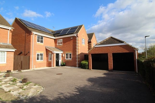 Thumbnail Detached house for sale in Brabazon Close, Shortstown, Bedford