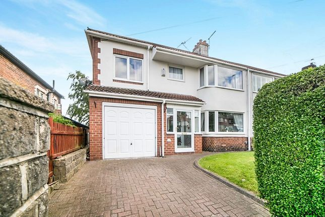 Thumbnail Semi-detached house for sale in Lobley Hill Road, Gateshead