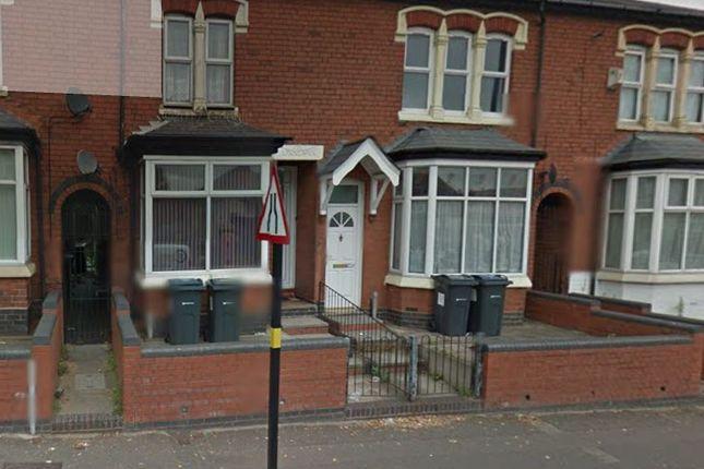 Thumbnail Terraced house to rent in Alum Rock Road, Alum Rock, Birmingham