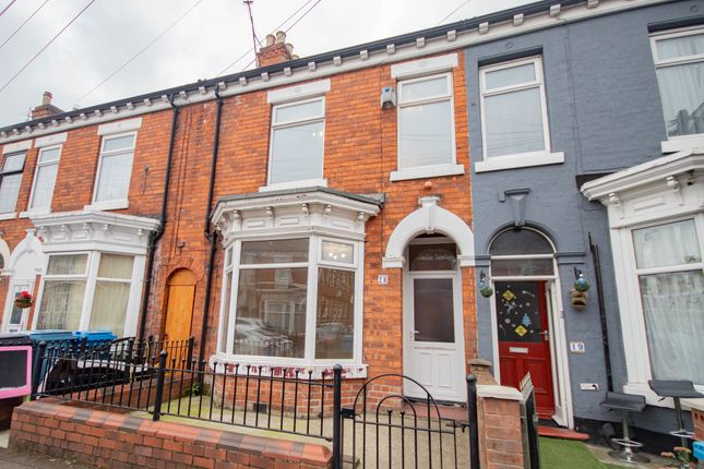 Thumbnail Terraced house to rent in Malm Street, Hull