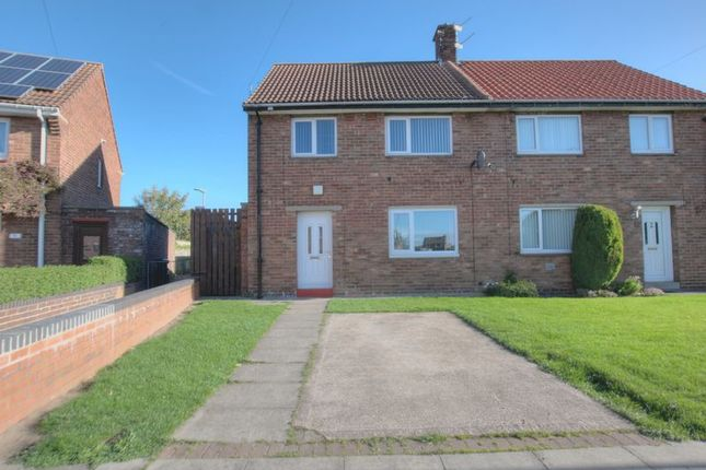 Thumbnail Semi-detached house to rent in Hall Green, Blyth
