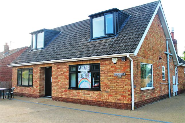 Thumbnail Detached bungalow for sale in Accommodation Road, Horncastle