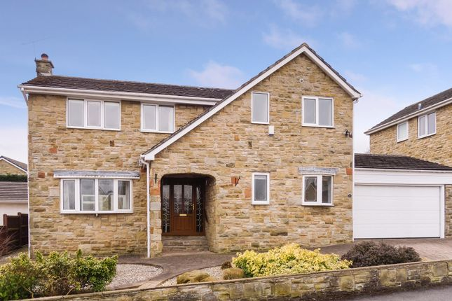 Thumbnail Detached house for sale in Whinmoor Drive, Silkstone, Barnsley