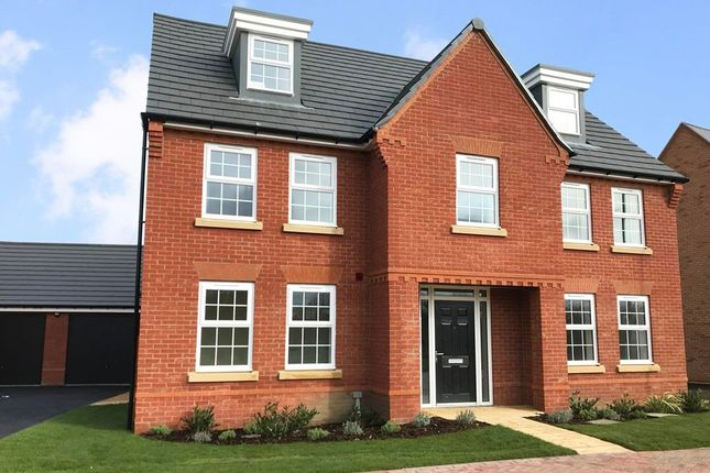 "Thumbnail Detached house for sale in ""Lichfield"" at Torry Orchard, Marston Moretaine, Bedford"