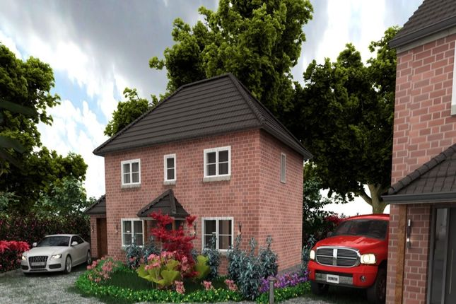 Thumbnail Detached house for sale in Redbrick Place Station Road, Madeley, Crewe