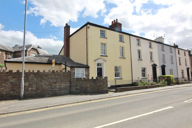 Thumbnail Town house for sale in Merthyr Road, Abergavenny