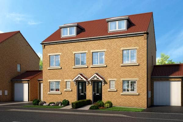 "Thumbnail Property for sale in ""The Oakhurst At Thornvale"" at South View, Spennymoor"
