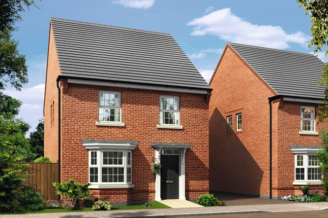 "Thumbnail Detached house for sale in ""Irving"" at Newport Road, St. Mellons, Cardiff"