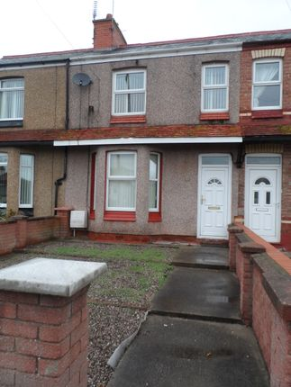 Thumbnail Terraced house to rent in Larkmount Road, Rhyl