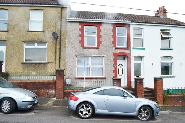 Thumbnail Terraced house for sale in Cross Street, Gilfach, Bargoed, Caerphilly