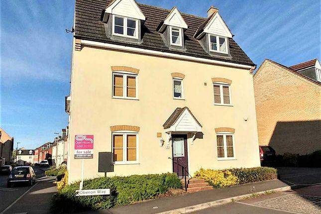 Thumbnail Detached house for sale in Oberon Way, Oxley Park, Milton Keynes