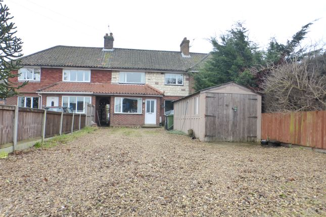 Thumbnail Terraced house for sale in Dereham Road, New Costessey, Norwich