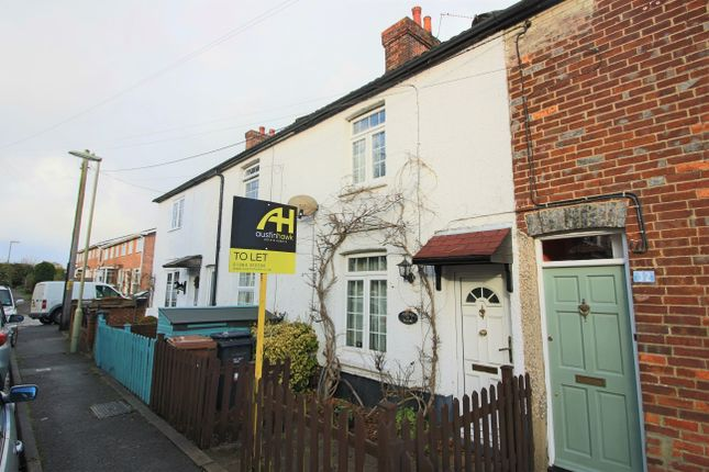 Thumbnail Terraced house to rent in Albany Road, Andover, Hampshire