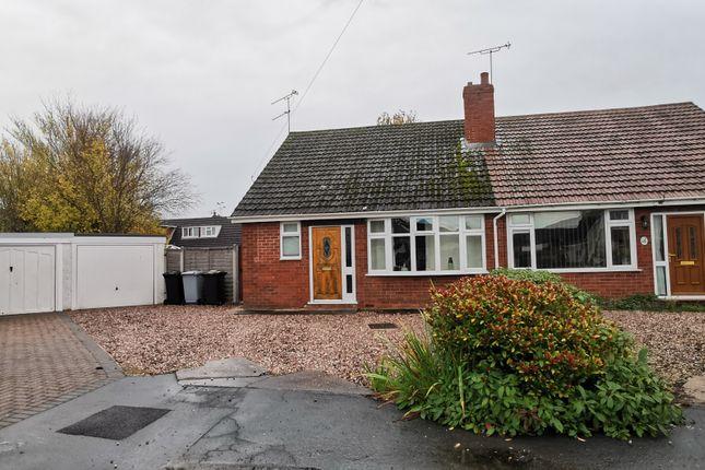 Thumbnail Bungalow to rent in Addison Close, Wistaston
