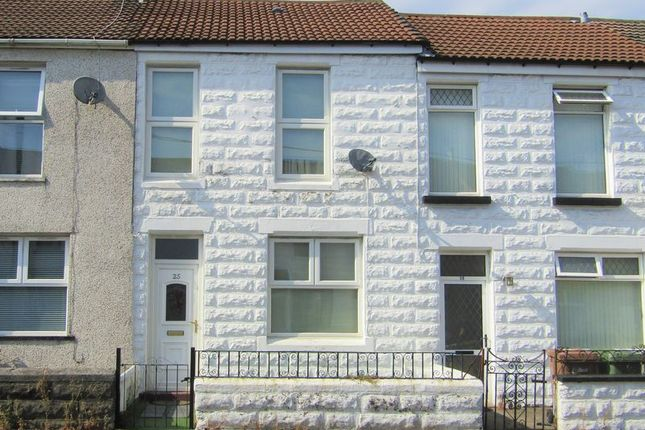 Thumbnail Terraced house to rent in Dol-Y-Felin Street, Caerphilly