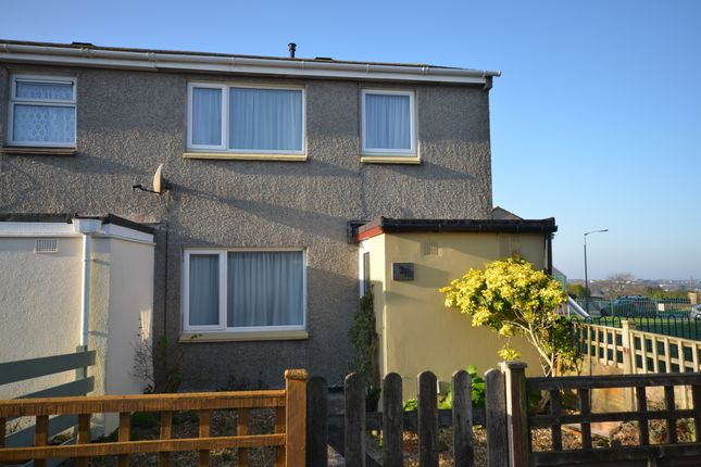 Thumbnail End terrace house for sale in Euny Close, Redruth