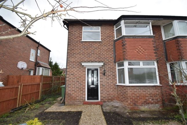 3 bed semi-detached house to rent in Hollymount Road, Offerton, Stockport, Cheshire SK2