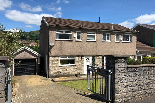 Thumbnail Semi-detached house for sale in Avondale Court, Porth